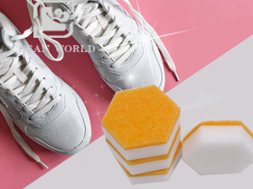 Hexagon Melamine Foam Shoes Cle