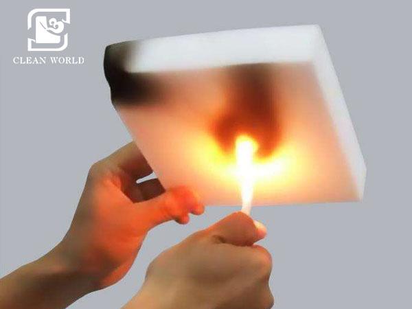 non-flammable melamine foam