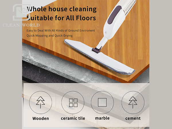 water spray mop for all floor materials