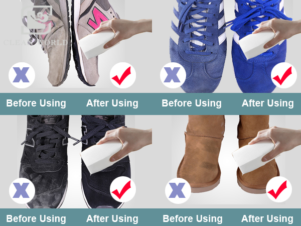 melamine foam shoes cleaning precautions