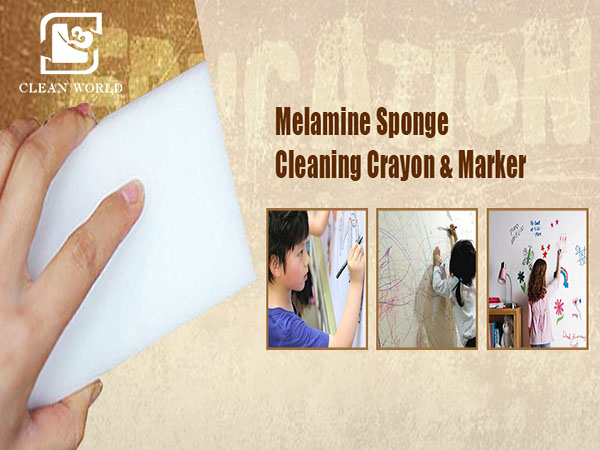 wall cleaning melamine foam