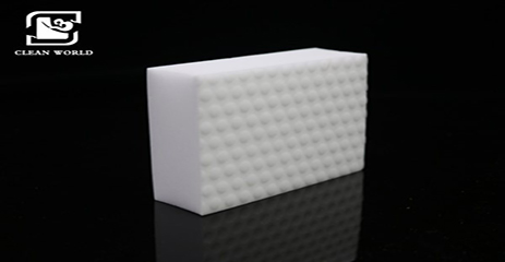 Melamine Foam On Glass