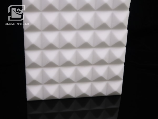 Melamine foam acoustic insulation has great effect on insulating sound.