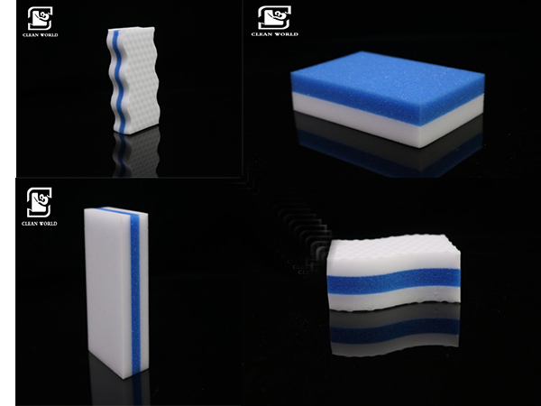 different shapes of melamine foam pu sponge