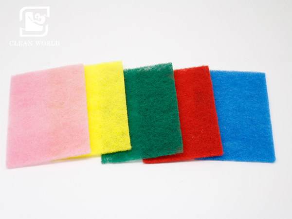scouring pads colors
