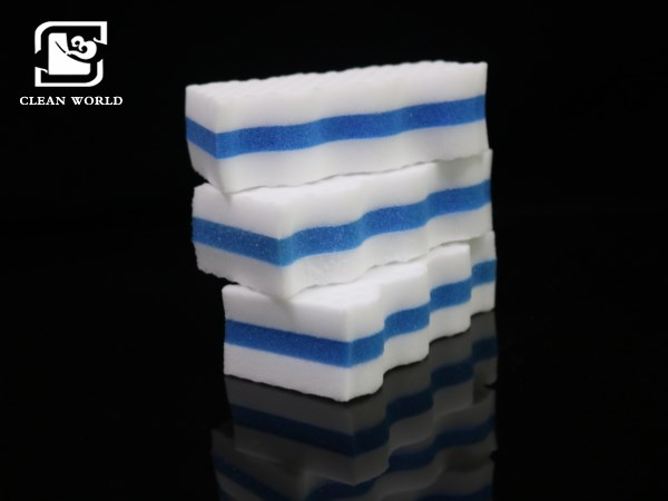 compound melamine foam sponges