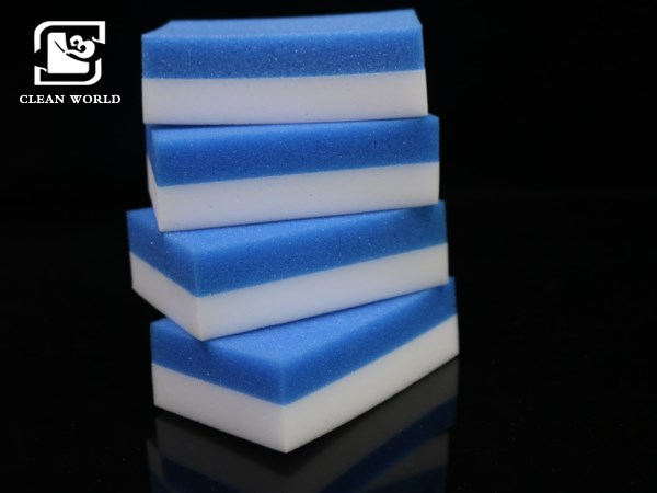 compound melamine foam with PU sponge