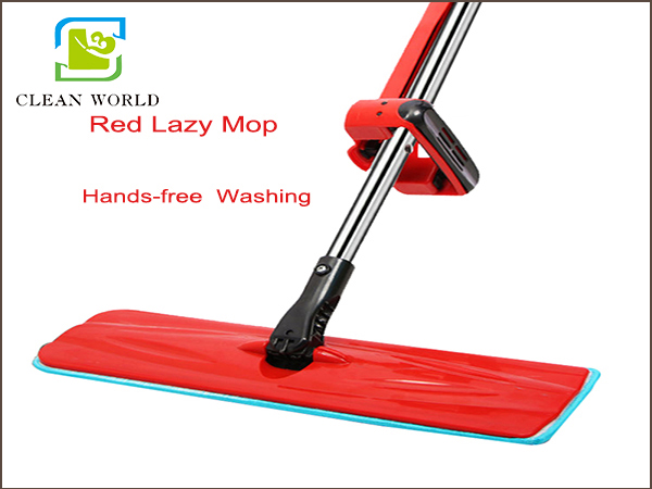 red lazy mop