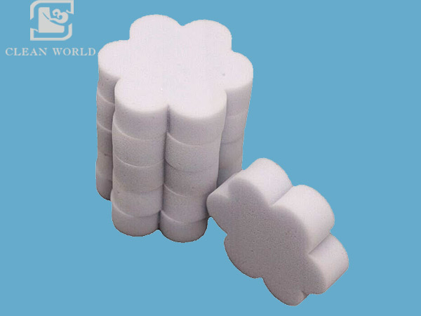 preferential flower shape melamine foam
