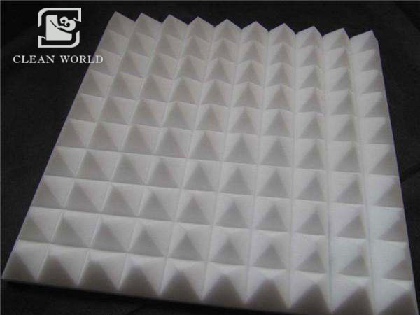 open cell melamine acoustic foam