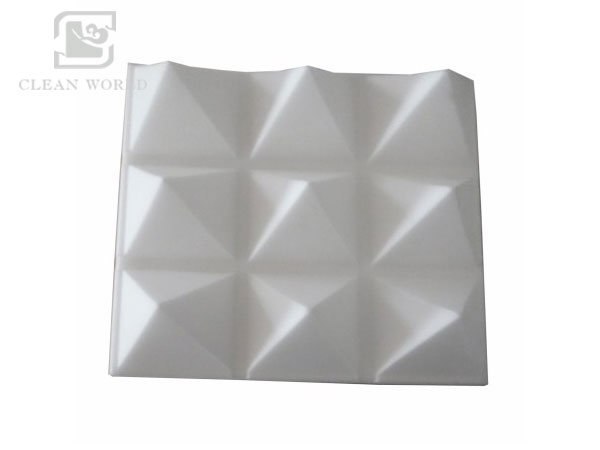 Open cell melamine sound absorbing foam